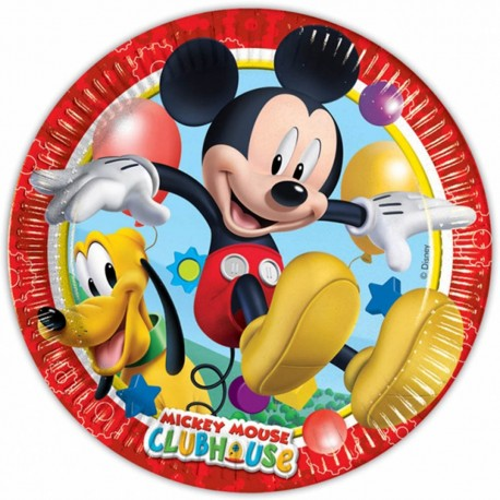 Mickey Mouse Clubhouse Plates - South Africa