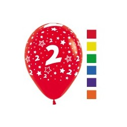 Number 2 Latex Balloons.