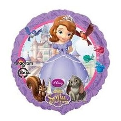 Sofia the First Round Foil Balloon