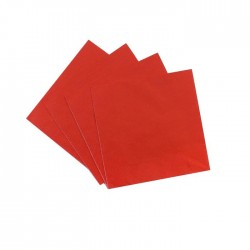 Red Serviettes (pack of 12)