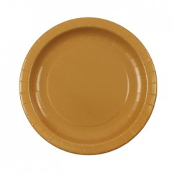 Gold Plates (pack of 12)