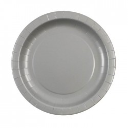 Silver Plates (pack of 12)