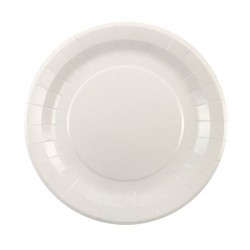 White Plates (pack of 8)