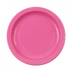 Pink Plates (pack of 8)