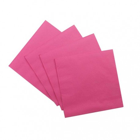 Pink Serviettes (pack of 10)