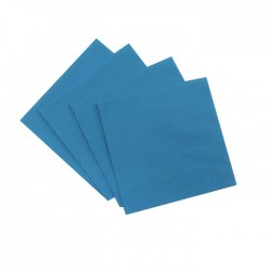 Turquoise Serviettes (pack of 10)
