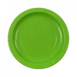 Light Green paper plates