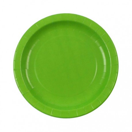 Light Green paper plates