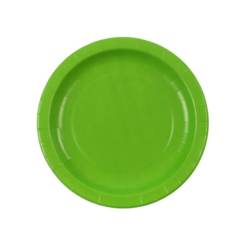 Light Green paper plates  sc 1 st  My Party Supplies : lime green paper plates - pezcame.com