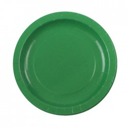 Green Plates (pack of 8)
