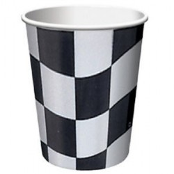 Checkered Cups (pack of 8)