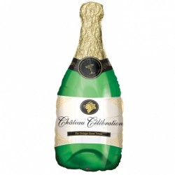 Champagne bottle SS Foil - www.mypartysupplies.co.za