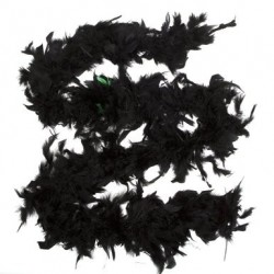 Feather Boa 40g 1.8m Black