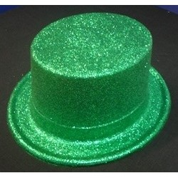 Top Hat Glitter Green - South Africa