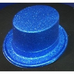 Blue glitter top hats - South Africa