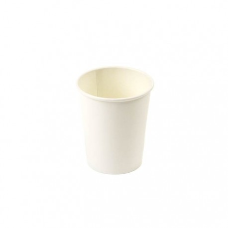 Plain White Paper Cups