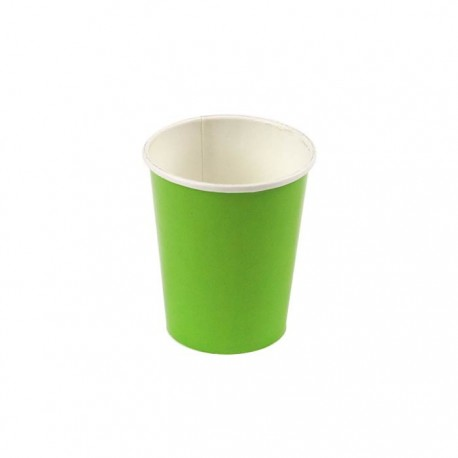 Plain Lime Green Cups