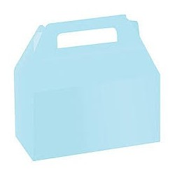 Light Blue Party Boxes (Pack of 5)