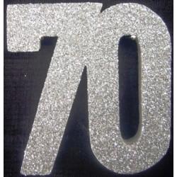Poly 70th Silver 30-cm