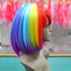 Wig - Bob Multi Colour