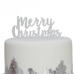 Christmas Metallics - cake topper