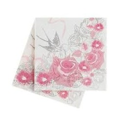 Enchanted Rose Serviettes