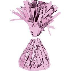 Pink balloon weight