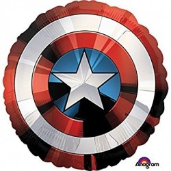 Avengers Shields Round Foil Balloon - South Africa