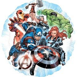 Avengers Round Foil Balloon - South Africa