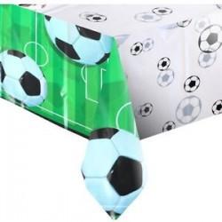 Soccer plastic tablecloth