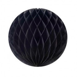 Black Honeycomb Ball . www.mypartysupplies.co.za