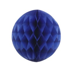Royal Blue Honeycomb Ball . www.mypartysupplies.co.za