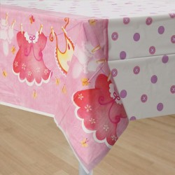 Baby Girl Clothesline tablelcoth