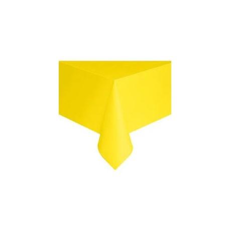 Neon Yellow Tablecloth   Www.mypartysupplies.co.za