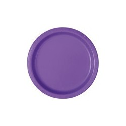 Neon Purple Paper Plates - South Africa