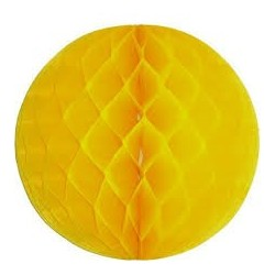 Yellow Honeycomb Ball