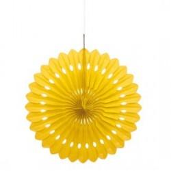 Yellow Decorative Fan