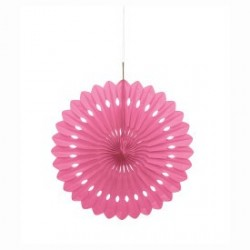 Pink Decorative Fan
