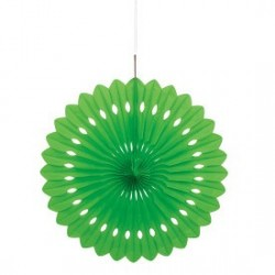 Lime Green Decorative Fan