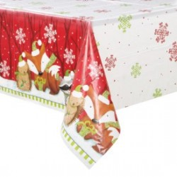 Woodlands Christmas Tablecloth
