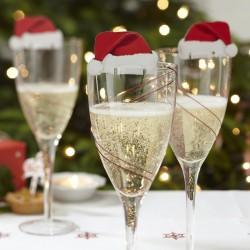 Christmas Cheer Glass Decoration
