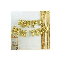 Happy New Year balloon Bunting