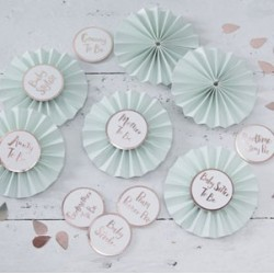 baby Shower Badge Kit
