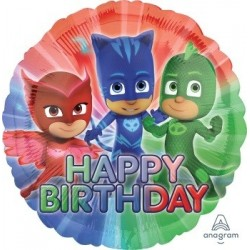PJ Masks Round Foil Balloon