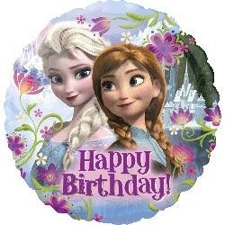 Frozen Happy Birthday Foil Balloon x 1