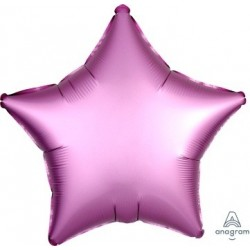 Satin Luxe Flamingo Star Foil Balloon - South Africa