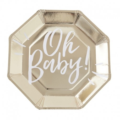Oh Baby Party Plate