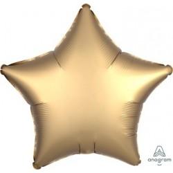 "18"" Satin Luxe Gold Star Foil Balloon"