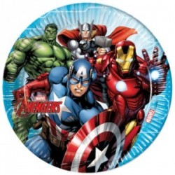 Avengers Plates (Pack of 8)