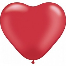 Red Heart Shape Latex Balloon - South Africa